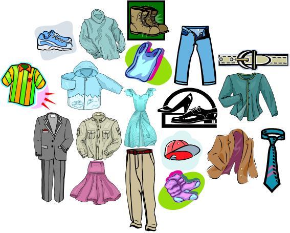 Describe la ropa.