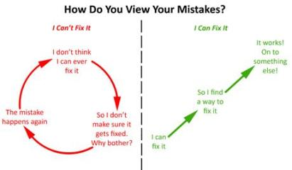 HOW DO YOU VIEW YOUR MISTAKES Hunter Maats and Katie O Brien