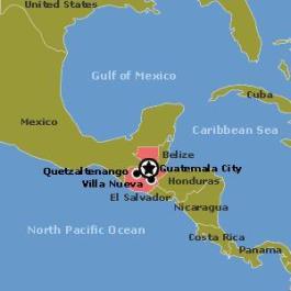 Centroamerica con Guatemala