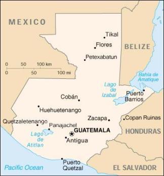 Guatemala Patricia va a CA