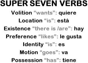 SUPER SEVEN VERBS