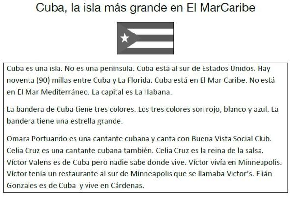 Cuba informacion