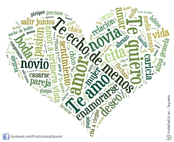 HEART WORD CLOUD LOVE WORDS