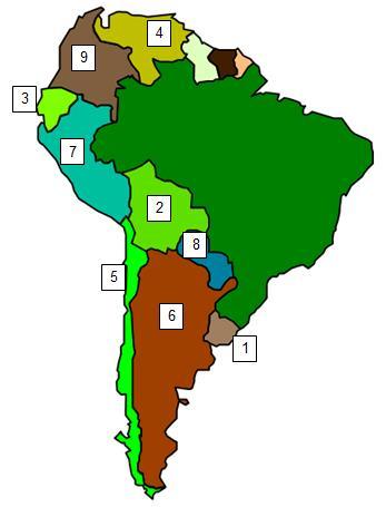Sudamerica mapa PRACTICE