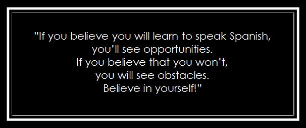 Believe and you will find opportunities