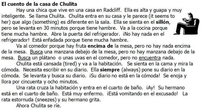 El cuento de la casa de Chulita