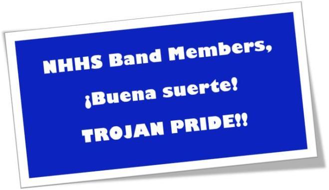 NHHS Band BUENA SUERTE