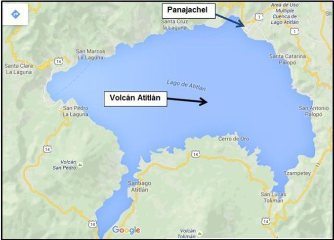 Panajachel El lago Atitlan