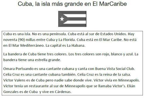 Cuba - la información