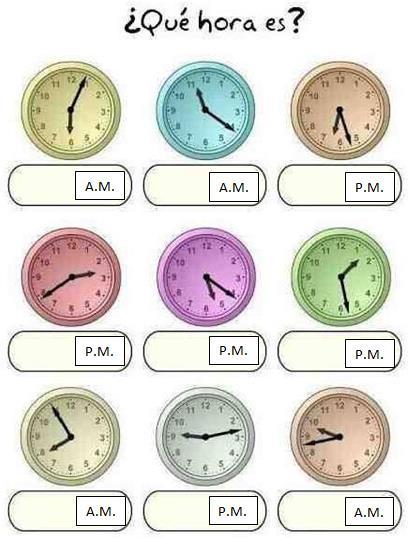 que-hora-es-clock-pics