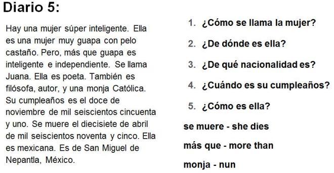 Diario 5 Biografias