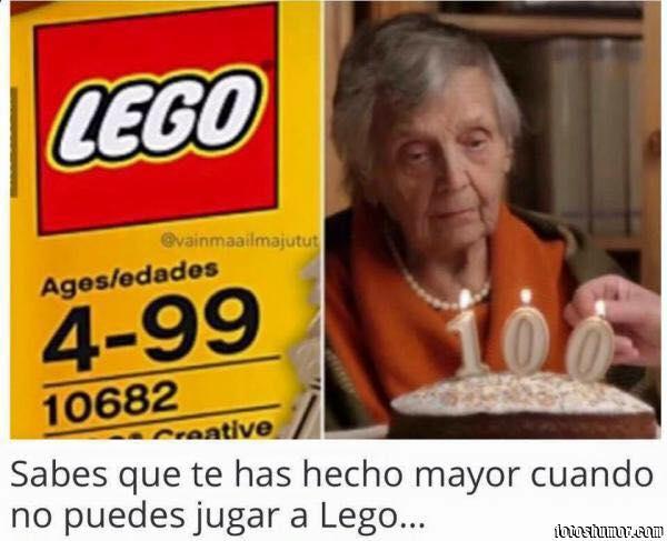 No puede jugar a Lego 4-99